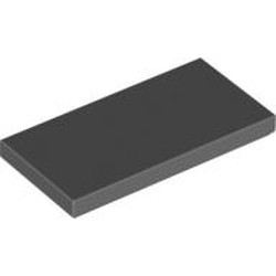 Dark Bluish Gray Tile 2 x 4 - new