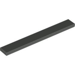 Dark Gray Tile 1 x 8 - used