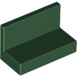 Dark Green Panel 1 x 2 x 1