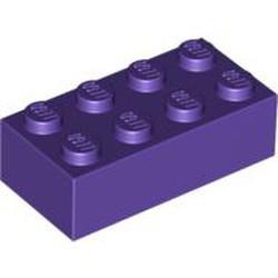 Dark Purple Brick 2 x 4