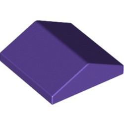 Dark Purple Slope 33 2 x 2 Double
