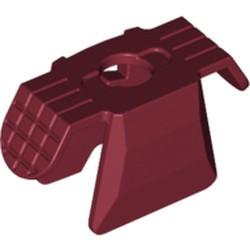 Dark Red Minifigure, Armor Ninja Style - used
