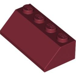 Dark Red Slope 45 2 x 4