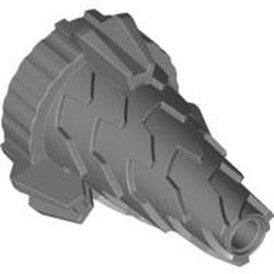 Flat Silver Cone Spiral Jagged - Step Drill