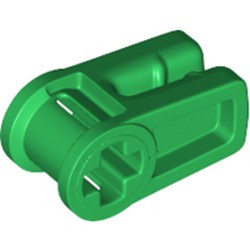 Green Technic, Axle and Wire Connector - new