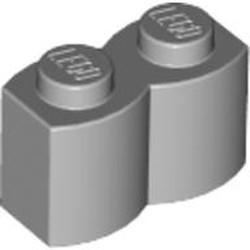 Light Bluish Gray Brick, Modified 1 x 2 Log - used