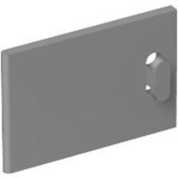 Light Bluish Gray Container, Cupboard 2 x 3 x 2 Door