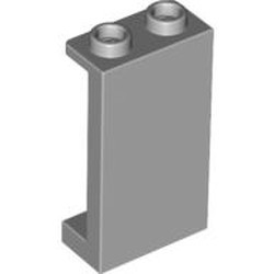 Light Bluish Gray Panel 1 x 2 x 3 with Side Supports - Hollow Studs - new