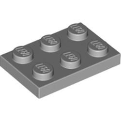 Light Bluish Gray Plate 2 x 3 - new