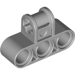 Light Bluish Gray Technic, Axle and Pin Connector Perpendicular Triple - new