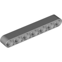 Light Bluish Gray Technic, Liftarm Thick 1 x 7