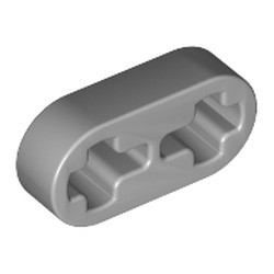 Light Bluish Gray Technic, Liftarm Thin 1 x 2 - Axle Holes