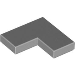 Light Bluish Gray Tile 2 x 2 Corner