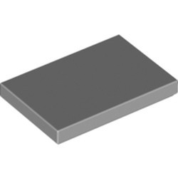 Light Bluish Gray Tile 2 x 3 - new