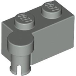 Light Gray Hinge Brick 1 x 4 Swivel Top