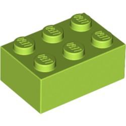 Lime Brick 2 x 3