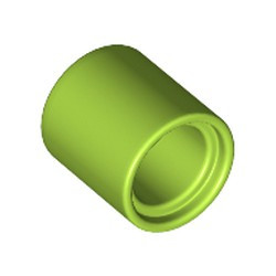 Lime Technic, Liftarm Thick 1 x 1 - [Formerly Connector Pin Round (1L Spacer) - new]
