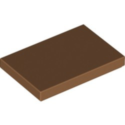 Medium Nougat Tile 2 x 3