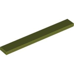 Olive Green Tile 1 x 8