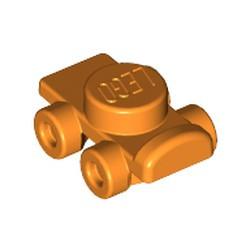 Orange Minifigure, Footgear Roller Skate - used