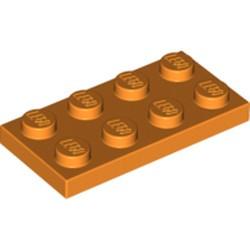 Orange Plate 2 x 4 - new