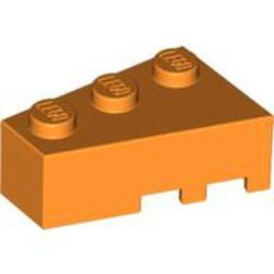 Orange Wedge 3 x 2 Left - used