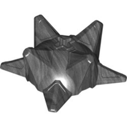 Pearl Dark Gray Hero Factory Weapon - Spiked Ball, Half