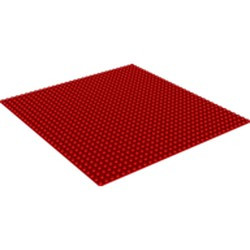 Red Baseplate 32 x 32