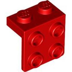 Red Bracket 1 x 2 - 2 x 2