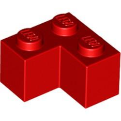 Red Brick 2 x 2 Corner