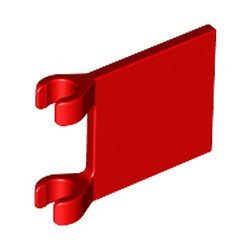 Red Flag 2 x 2 Square - new
