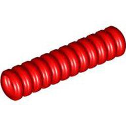 Red Hose, Ribbed 7mm D. 4L / 3.2cm