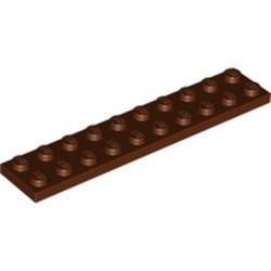 Reddish Brown Plate 2 x 10 - used