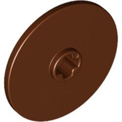 Reddish Brown Technic, Disk 3 x 3 - new