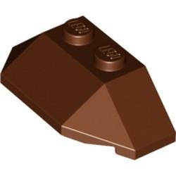 Reddish Brown Wedge 2 x 4 Triple - used