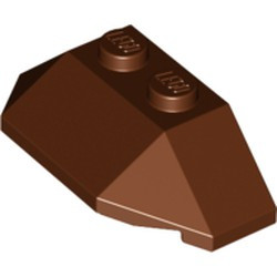 Reddish Brown Wedge 2 x 4 Triple