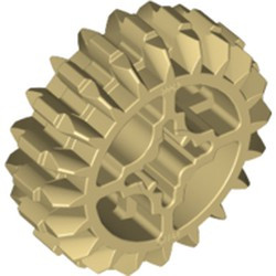 Tan Technic, Gear 20 Tooth Double Bevel - new