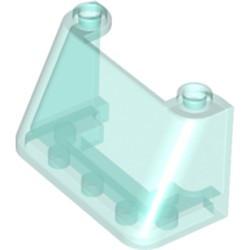 Trans-Light Blue Windscreen 2 x 4 x 2