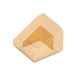 Trans-Orange Slope 30 1 x 1 x 2/3 - new