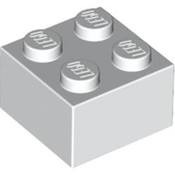 White Brick 2 x 2