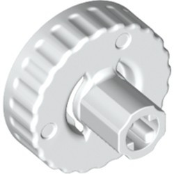 White Technic, Clutch Connector Female / Outside