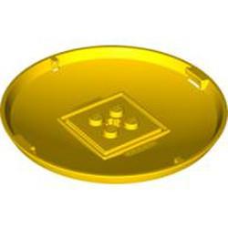 Yellow Container, X-Pod Bottom Cap 9 x 9 x 1