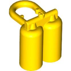 Yellow Minifigure, Airtanks - used