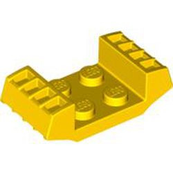 Yellow Plate, Modified 2 x 2 with Vents