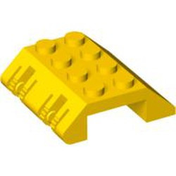 Yellow Slope 45 4 x 4 Double with Locking Hinge - new