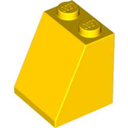 Yellow Slope 65 2 x 2 x 2 with Bottom Tube