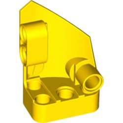 Yellow Technic, Panel Fairing # 1 Small Smooth Short, Side A