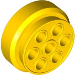 Yellow Wheel 30mm D. x 13mm (13 x 24 Model Team)