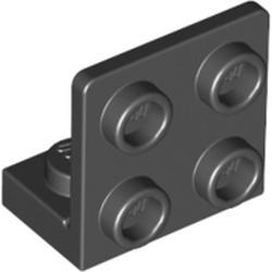 Black Bracket 1 x 2 - 2 x 2 Inverted - used