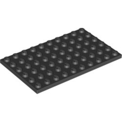 Black Plate 6 x 10 - new